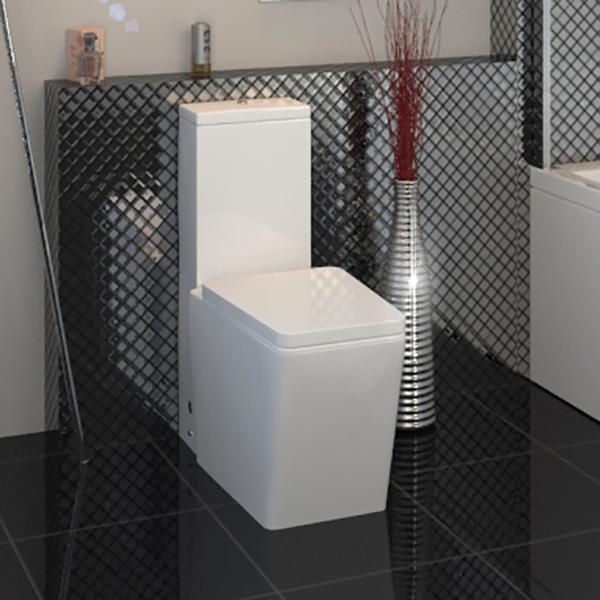 Bathroom Amp Cloakroom Toilet Pan Close Coupled Cistern