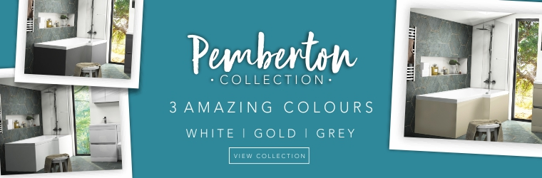 Pemberton Collection in 3 amazing colours - White, Gold and Grey. View collection now!