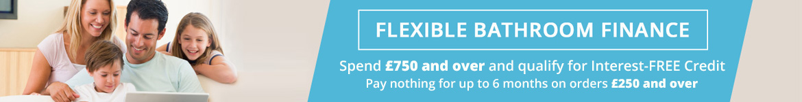 Spend £750 and over and qualify for Interest-FREE credit.