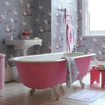 Wallpapering Your Bathroom Bathroom City
