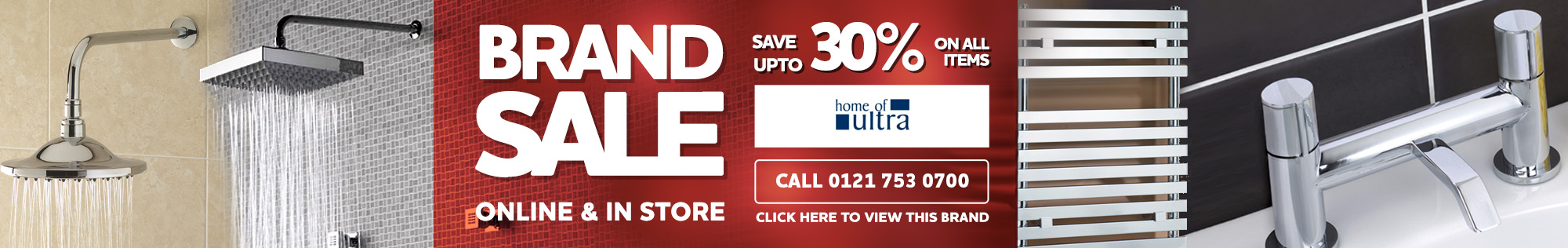Ultra Hudson Reed Brand Sale - Save up to 30% on all items online & in store - Call 0121 753 0700 for more information
