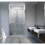 Matki Showering Recessed Inline Shower Doors at Bathroom City