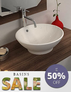 Tara Ceramic white basins Featured image - Monao round basin
