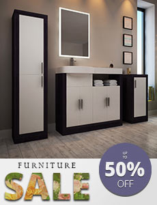 Combination bathroom basin and toilet Hacienda Furniture - menu image