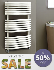 Bathroom square delux towel warmer Featured image - Caria radiator