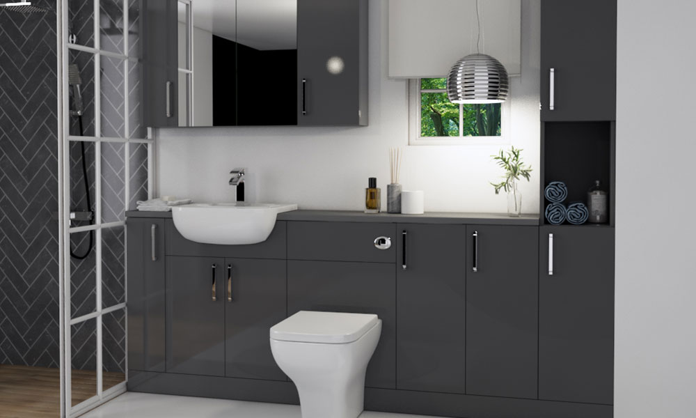Fitted Bathroom Furniture - Oliver Range