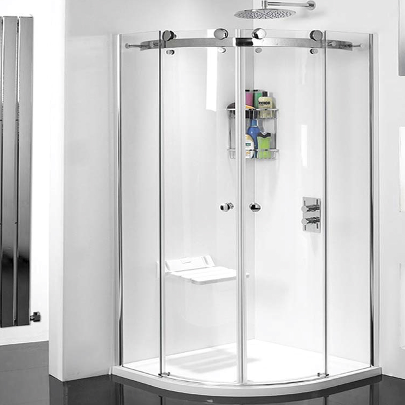 Motion 8mm 1000 quad shower enclosure buy online at for Bathroom design quad cities