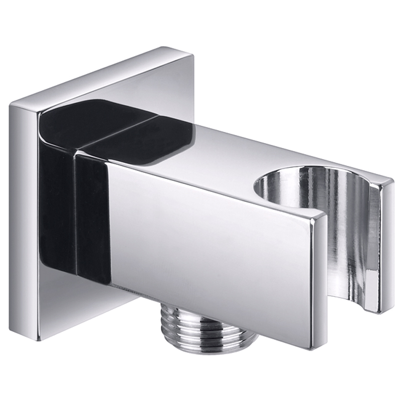 Square wall outlet elbow with bracket buy online at