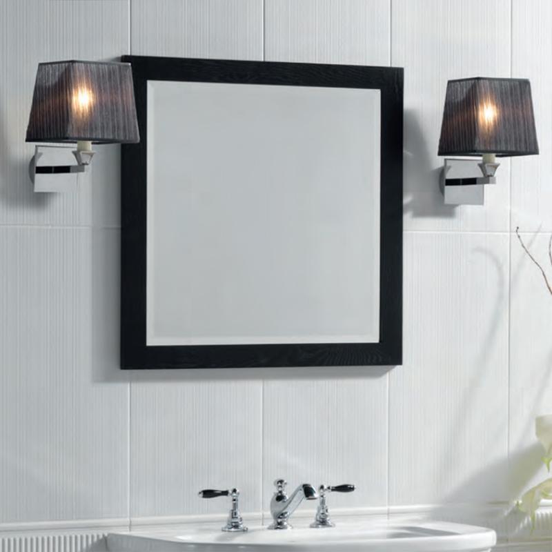 Bathroom Wall Lamp Shades : Astoria Wall Lamp With Fabric Shade Buy Online at Bathroom City