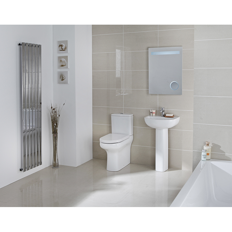 Compact eco rimless complete bathroom suite buy online at for Buy bathroom suite uk