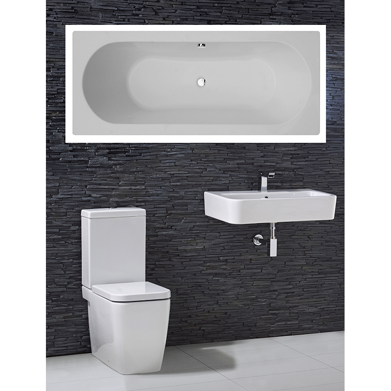 Trac complete bathroom suite buy online at bathroom city for Buy bathroom suite uk
