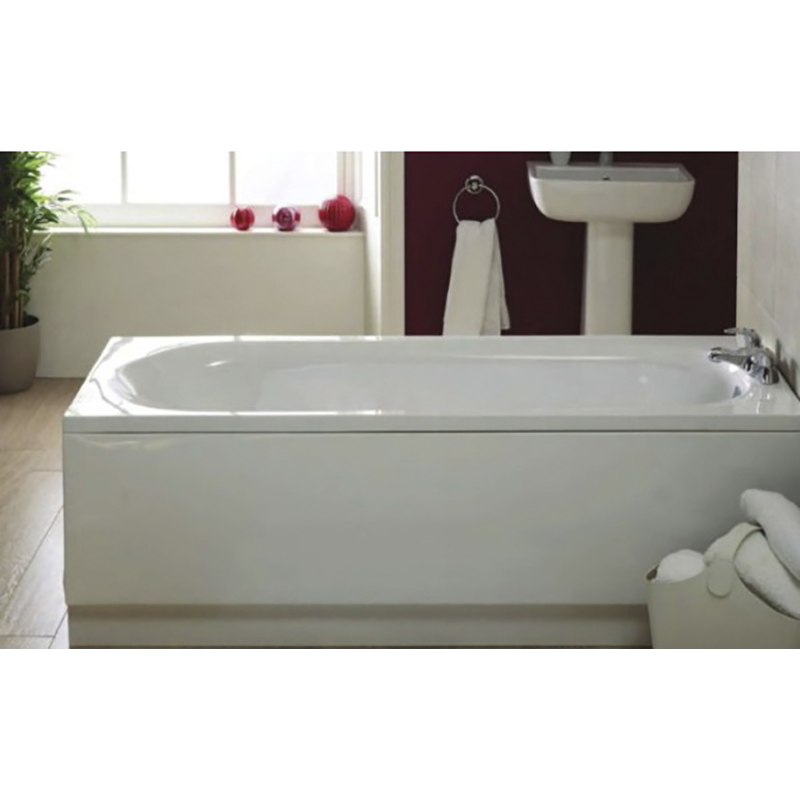 Kent Straight Bath 1500x700 Buy Online At Bathroom City