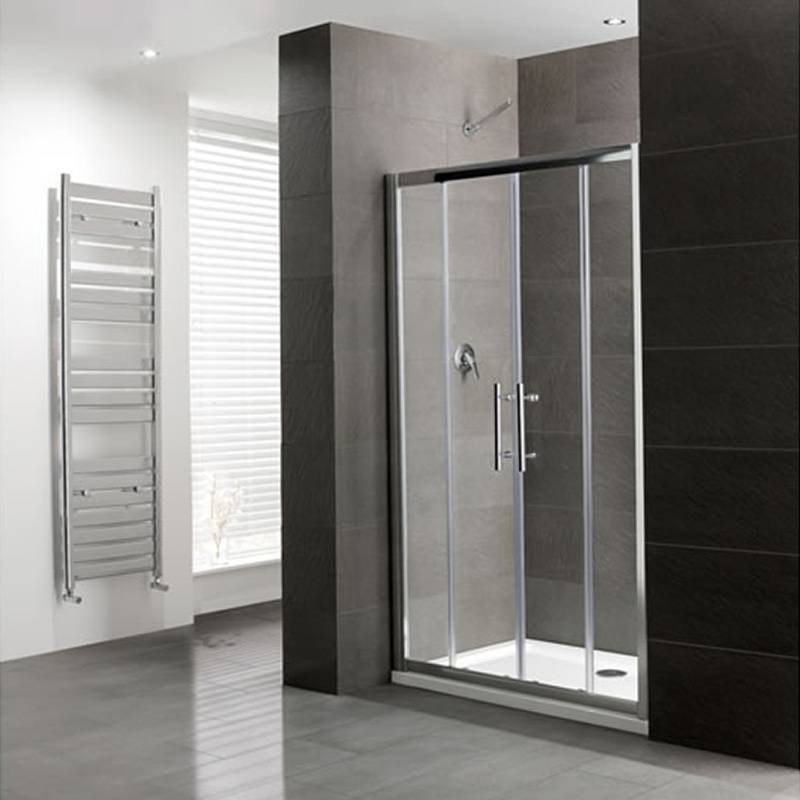 Volente Double sliding Door Silver Shower Enclosure Buy Online at ...