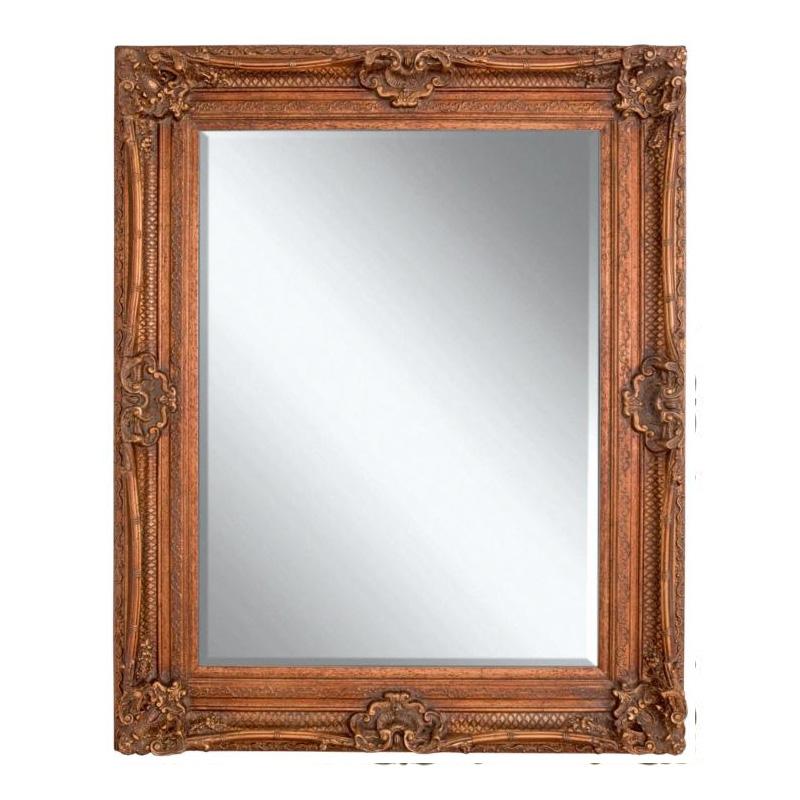 Chesham Mirror 130cm x 99cm Burnished Gold - 16994/1