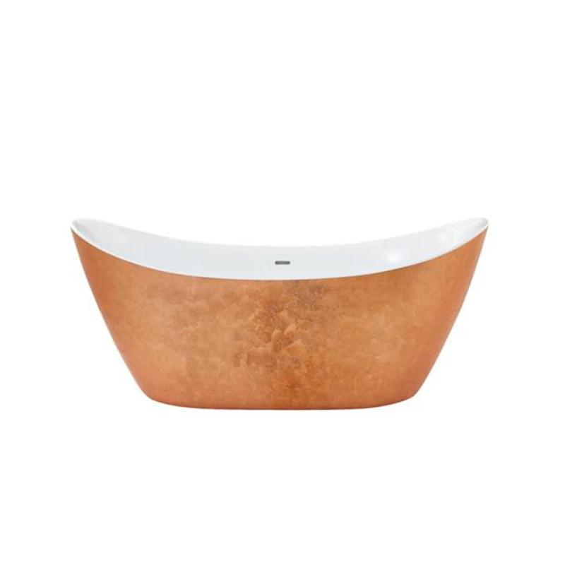 Hylton FS Acrylic Bath Copper Effect - 16997/1