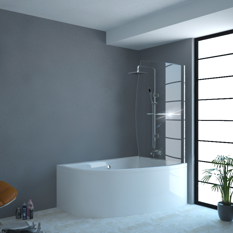 Clia Rh Corner Bath And Panel And Screen Buy Online At