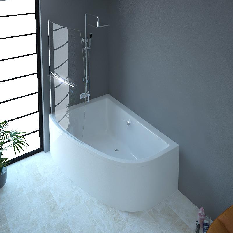 Clia Left Hand Corner Bath And Panel Amp Screen Buy Online