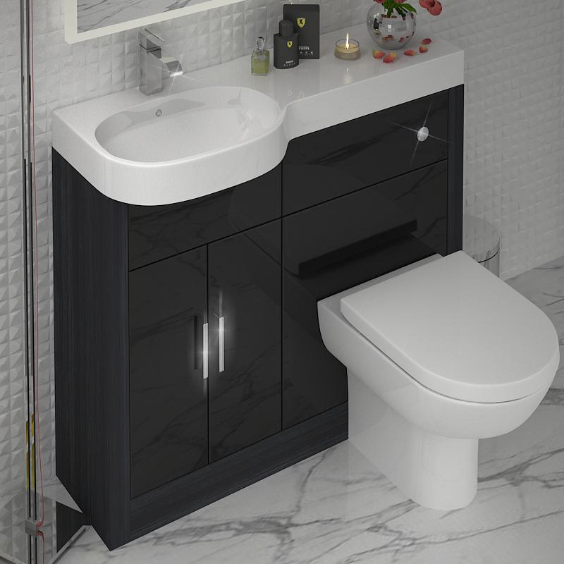 Bathroom Vanities Clearwater Fl: Hacienda 1000 Combination Vanity Unit (Colour Options) LH