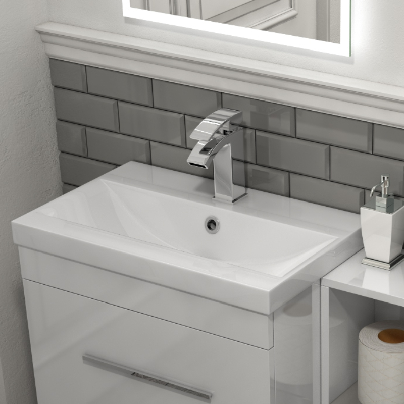 Patello 1400 Vanity Furniture Set White Buy Online At