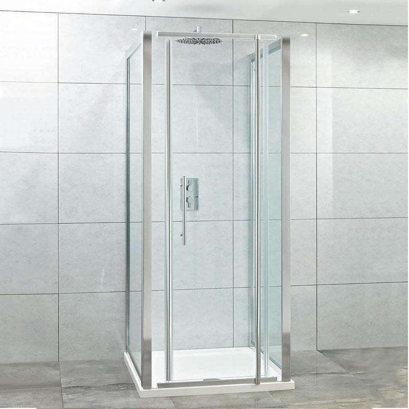 Elegance 8mm Pivot Door 1000mm Easy Clean Glass Buy Online