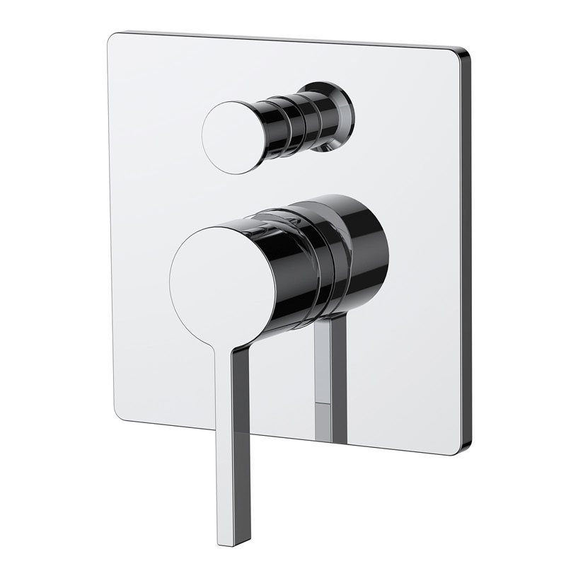 Fiore Single Lever Manual Shower Valve and Built In Diverter Buy ...