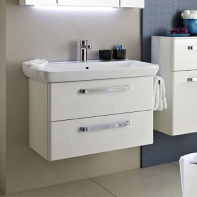 Beau Unique Design Pineo Bathroom Vanity Unit 2 Drawer ...