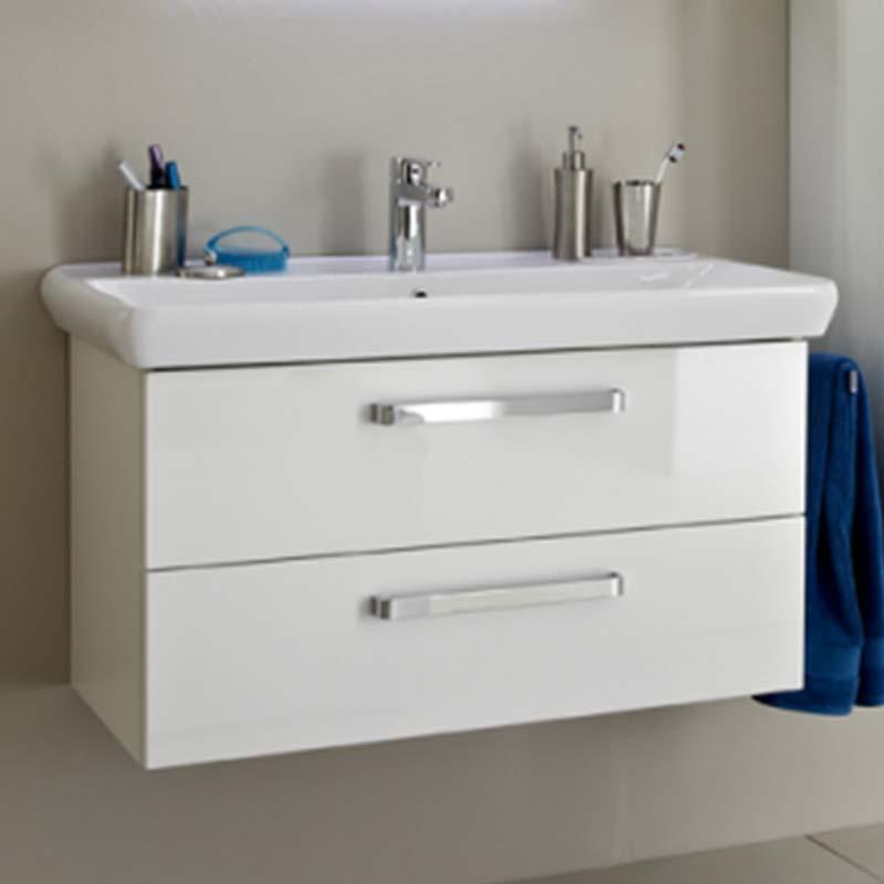 Pine Bathroom Vanity Unit: Pineo Bathroom Vanity Unit 2 Drawer Buy Online At Bathroom