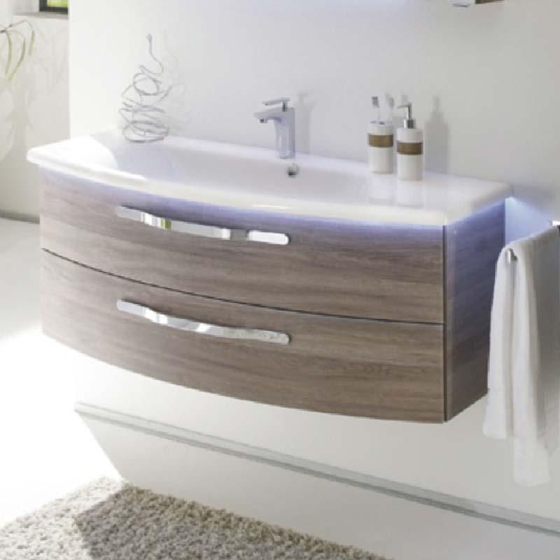 Solitaire 7005 2 drawer bathroom vanity unit buy online at - Replacement drawers for bathroom vanity ...