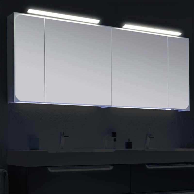 Buy Solitaire 7020 Mirror Medicine Cabinet 3 4 Door Online