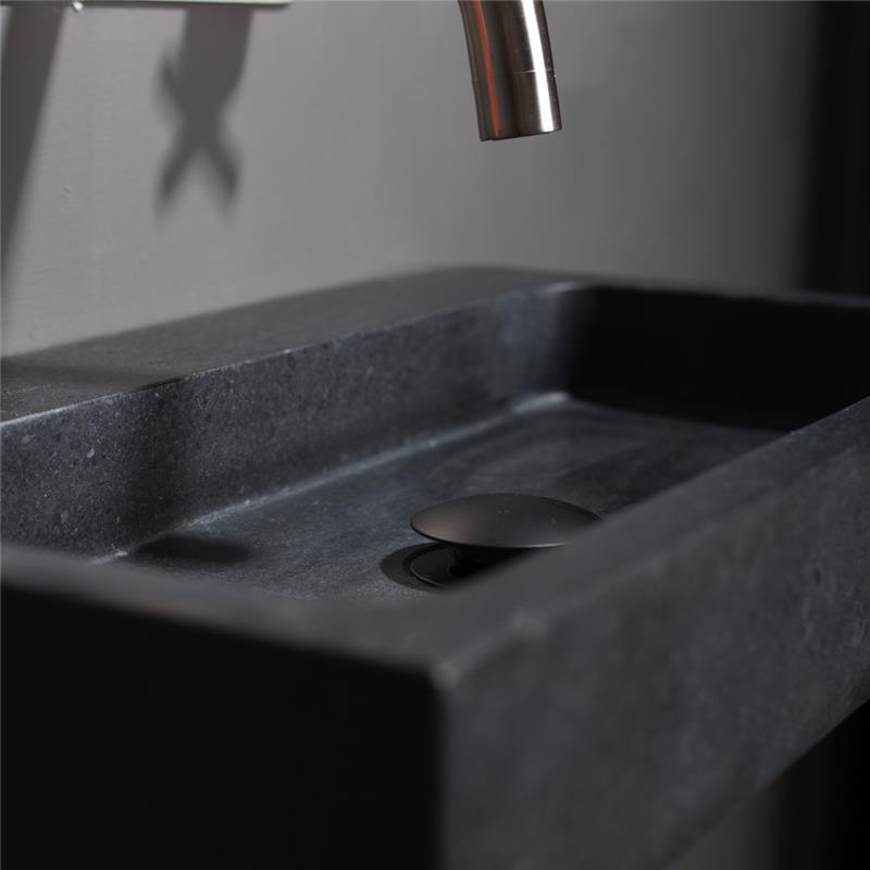 Buy Forzalaqua Taranto Natural Wall Hung Basin Basalt Online