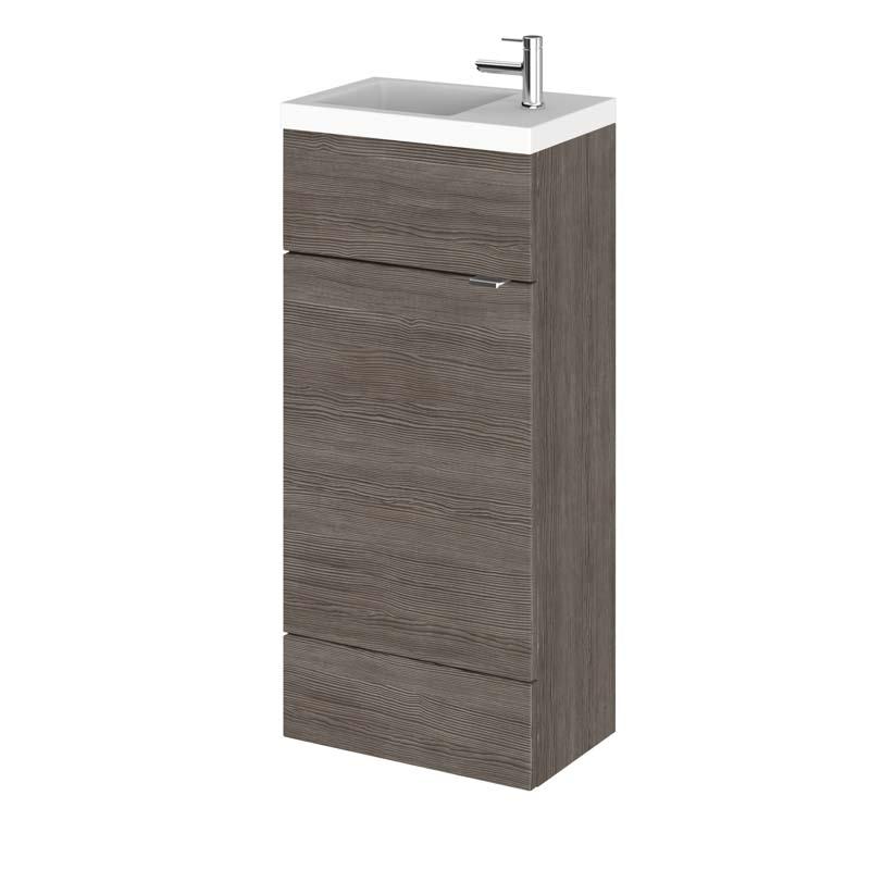 combination compact 400 cloakroom vanity unit colour. Black Bedroom Furniture Sets. Home Design Ideas