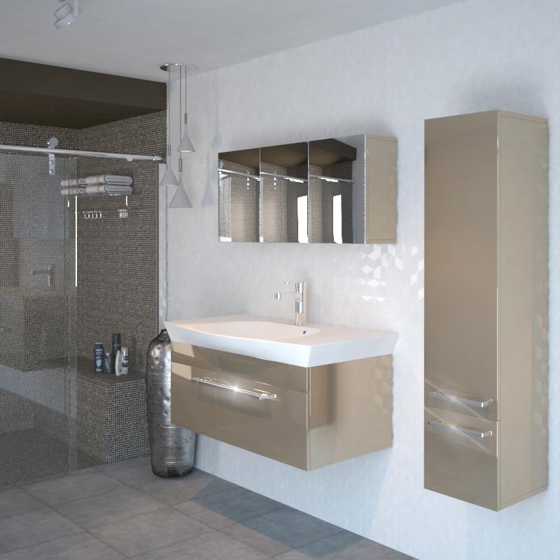 Pemberton Gold 950 Vanity Unit And Basin Buy Online At