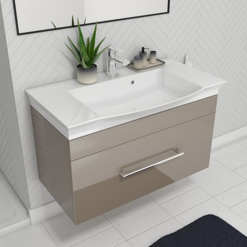 Pemberton Gold 950 Vanity Unit And Basin Buy Online At Bathroom City