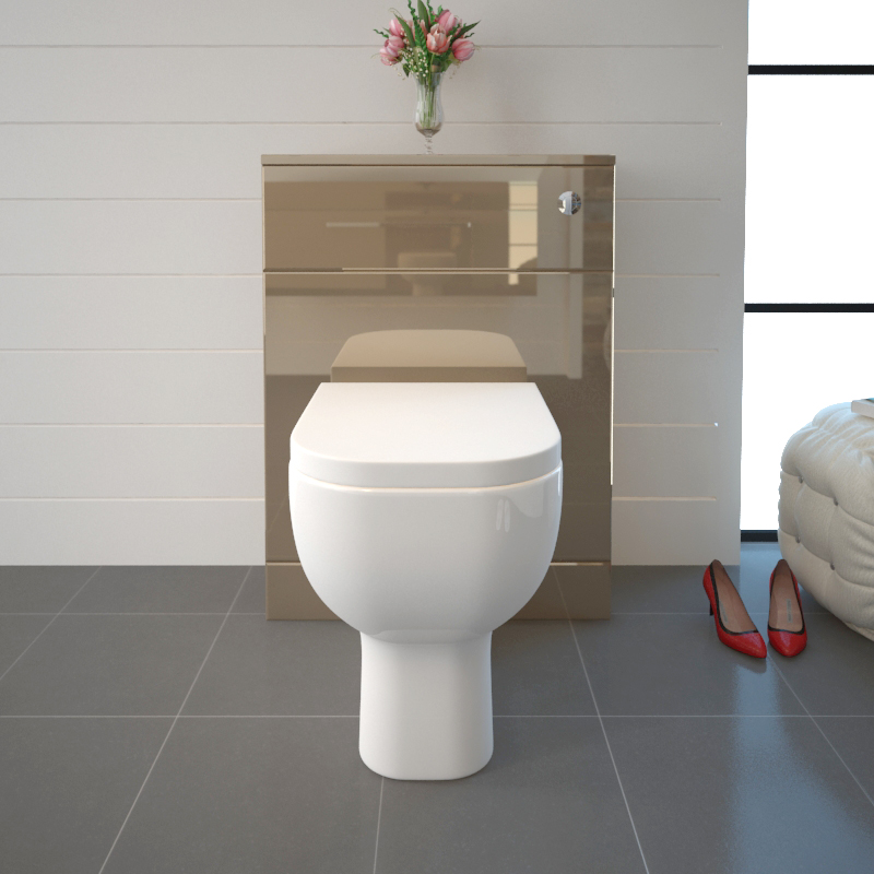 Pemberton Gold Back To Wall Toilet Unit 600mm Buy Online