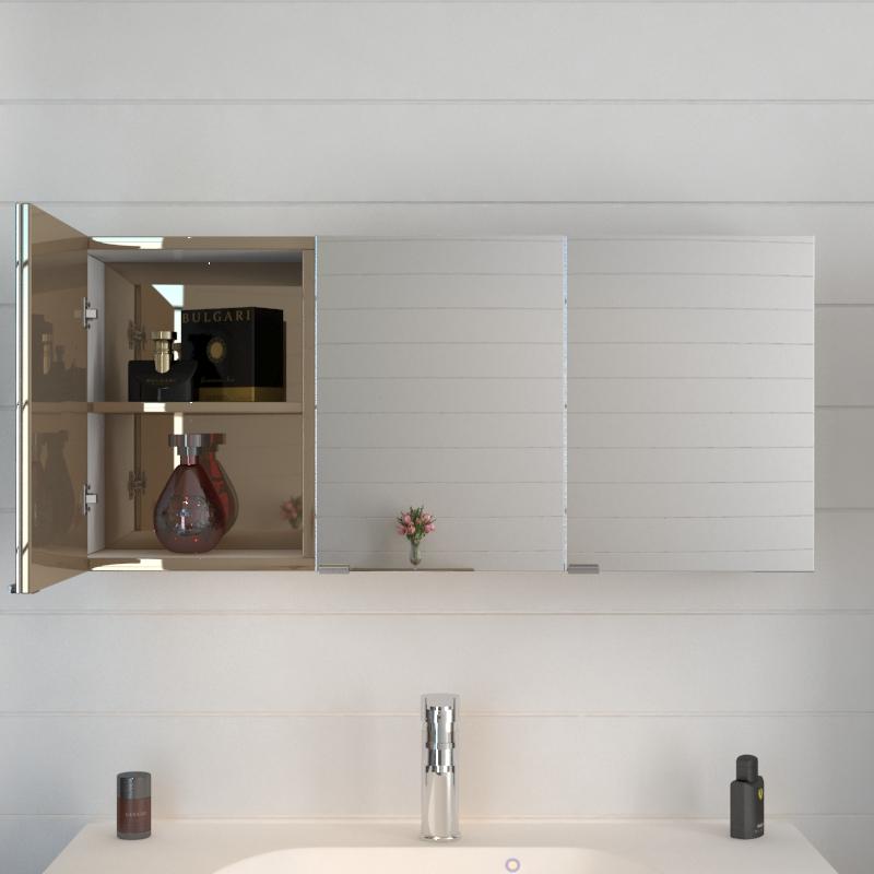 Pemberton Gold Mirror Cabinet Buy Online At Bathroom City