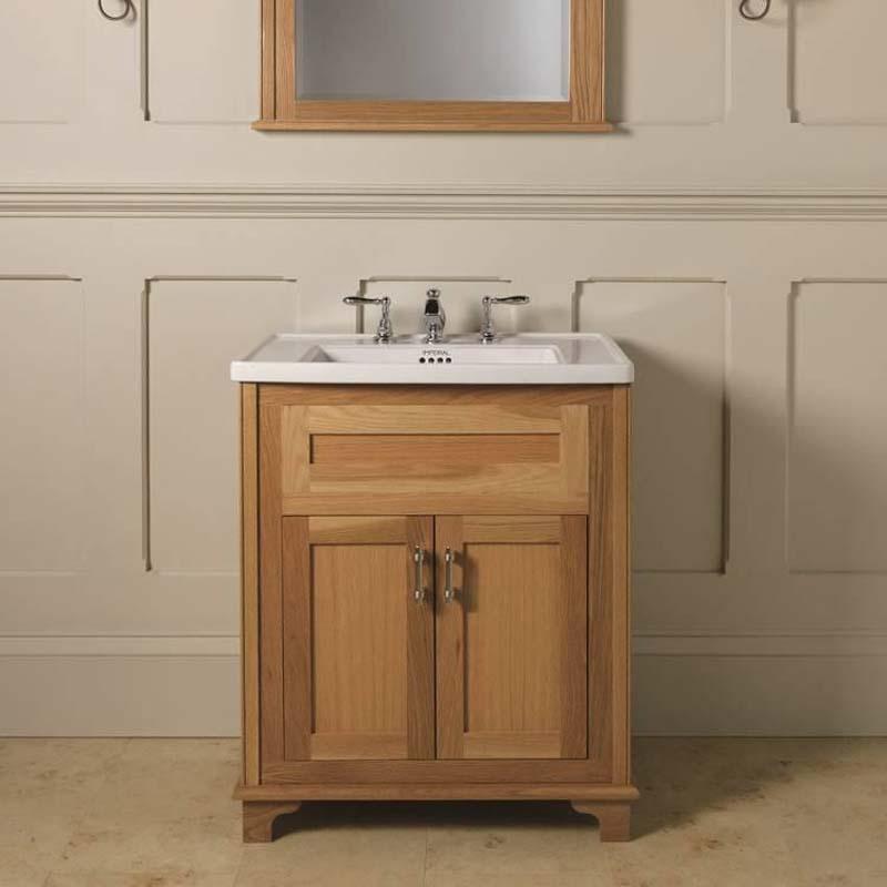 thurlestone traditional 2 door bathroom vanity unit solid wood buy online at bathroom city. Black Bedroom Furniture Sets. Home Design Ideas