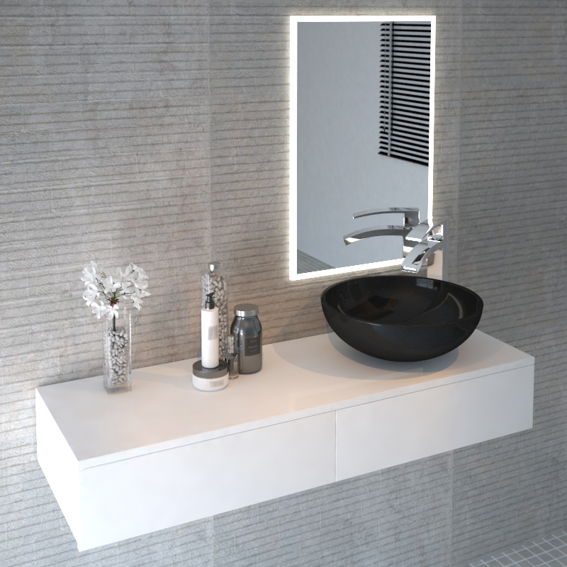 Cloud Wall Hung Vanity Unit White Buy Online at Bathroom City