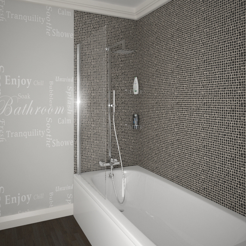 Daniel Small Bath Suite With Shower Screen Buy Online At