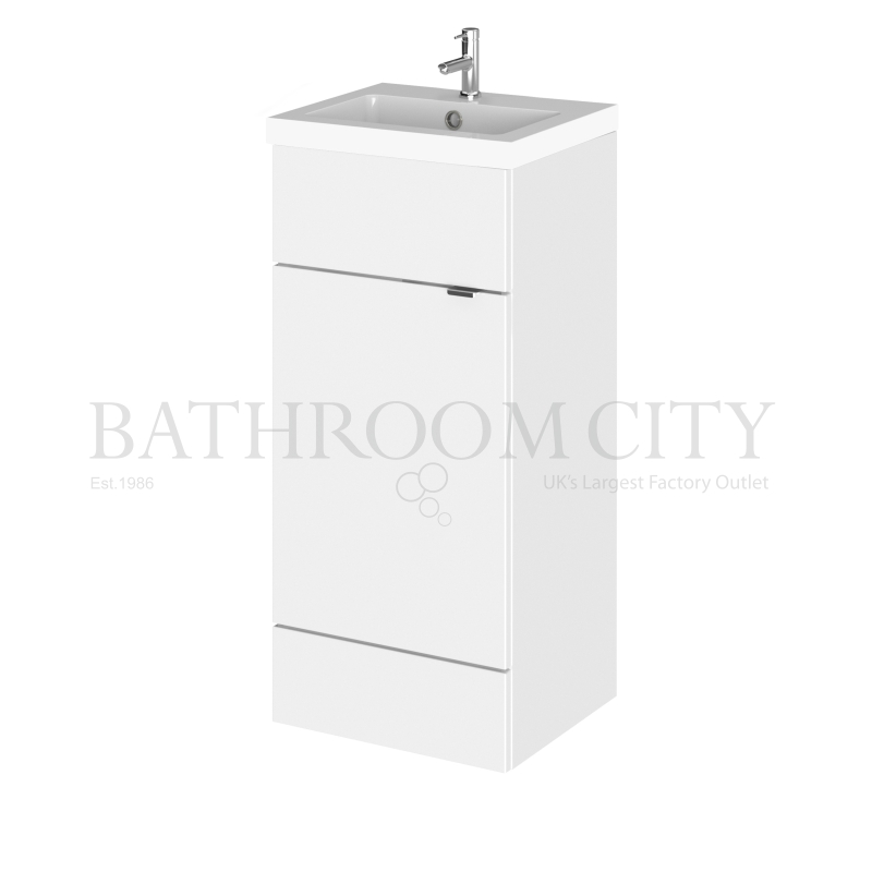 400mm Full Depth Vanity Unit Basin Buy Online At Bathroom City