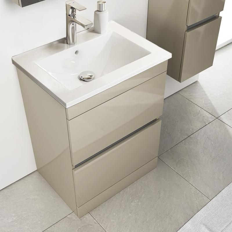 Pemberton Floor Standing Handless 2, Free Standing Bathroom Sink Vanity