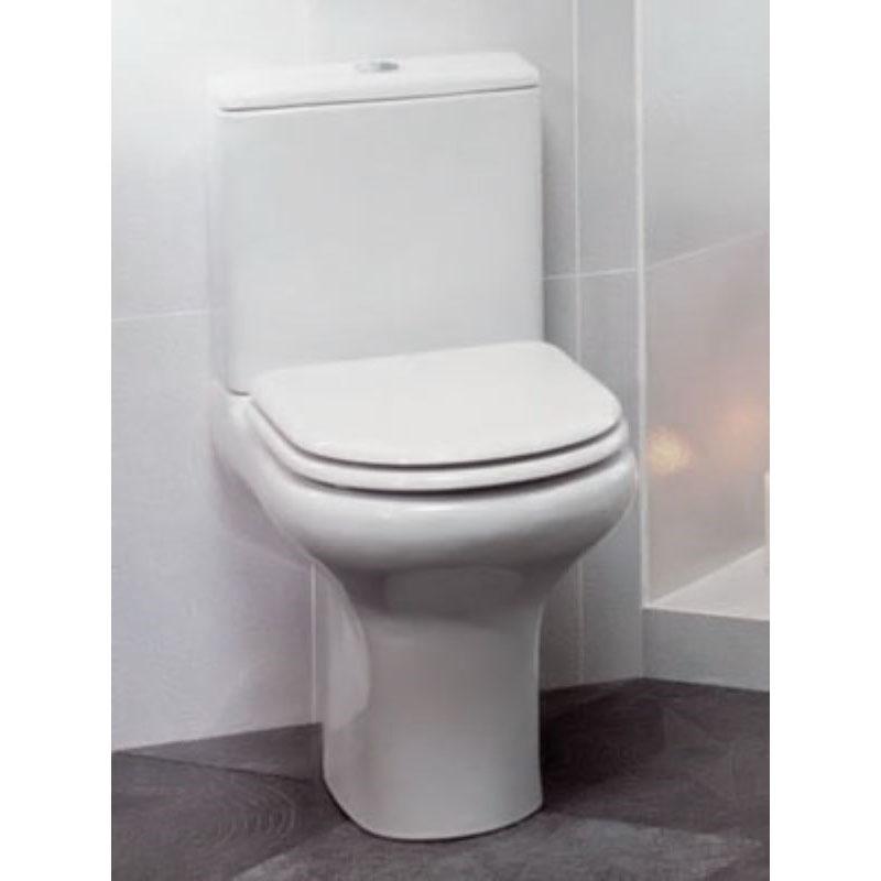 Awe Inspiring Compact Close Coupled Toilet Seat Creativecarmelina Interior Chair Design Creativecarmelinacom