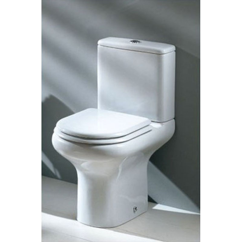 Compact Close Coupled Toilet Amp Seat Buy Online At Bathroom