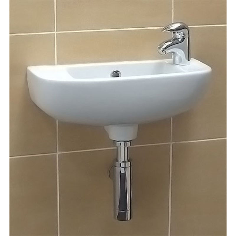 Compact Slim Line Washbasin Buy Online At Bathroom City