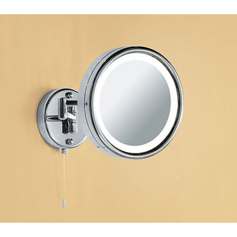 Halo illuminated round bathroom mirror buy online at for Where can i buy bathroom mirrors