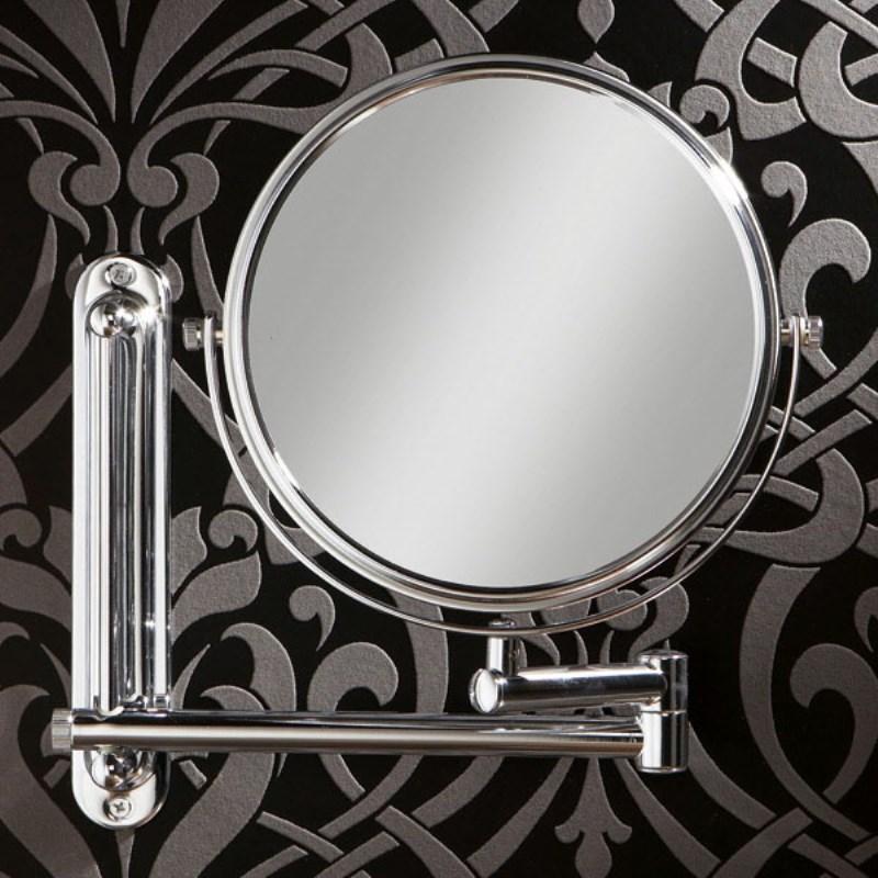 Tila Double Arm Adjustable Bathroom Mirror Extendable up to 330mm - 21-129/1
