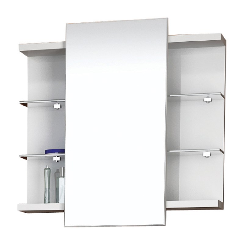Bathroom mirror cabinet with lights - Hush Sliding Mirror Cabinet Buy Online At Bathroom City