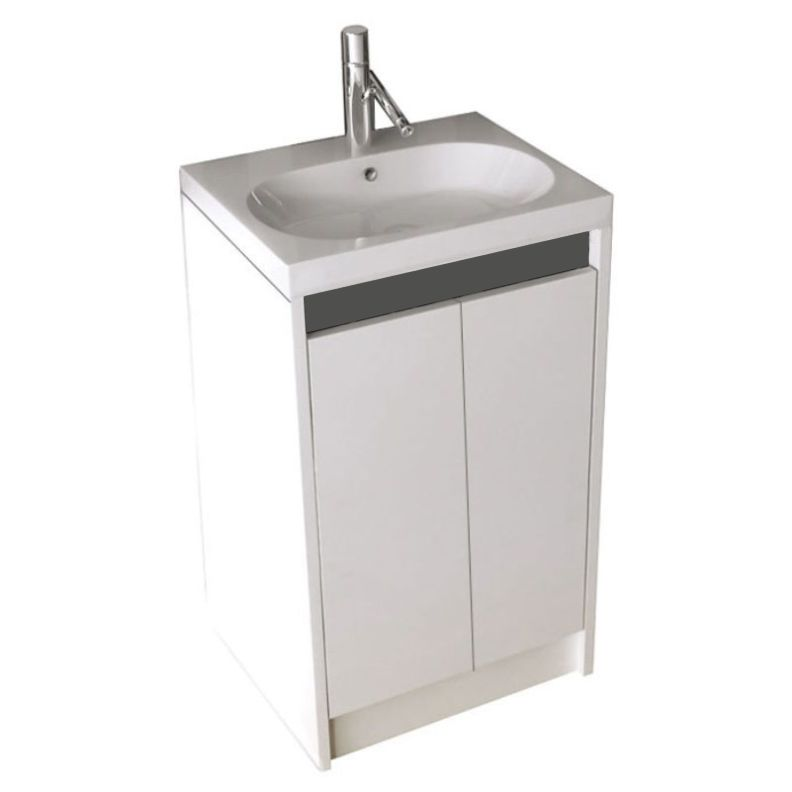 ... Switch 40 2 Door Compact Small Vanity Unit And Basin   177133