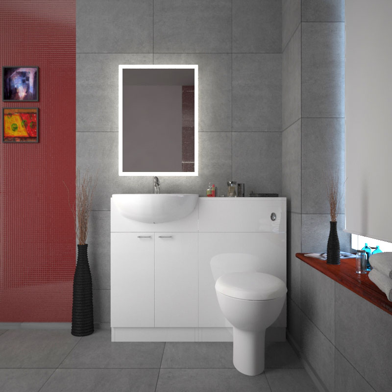 Yubo Vanity Unit Cloakroom En Suite Buy Online At Bathroom