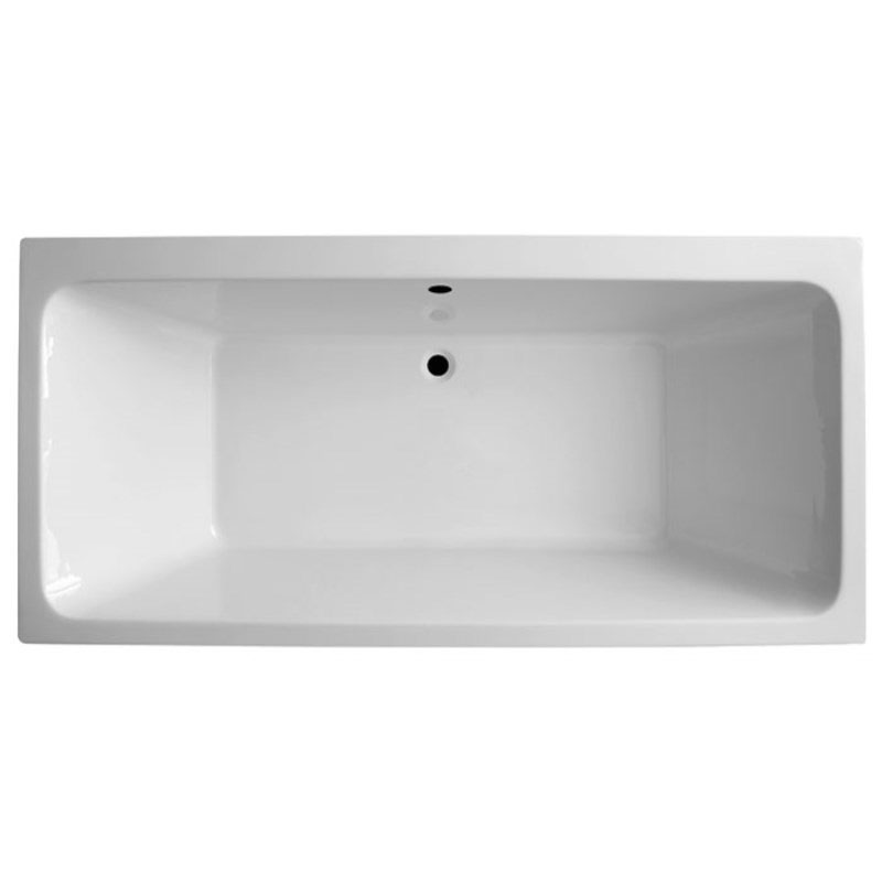 Vernwy 1700x800 Double Ended Whirlpool Bath Buy Online at Bathroom City
