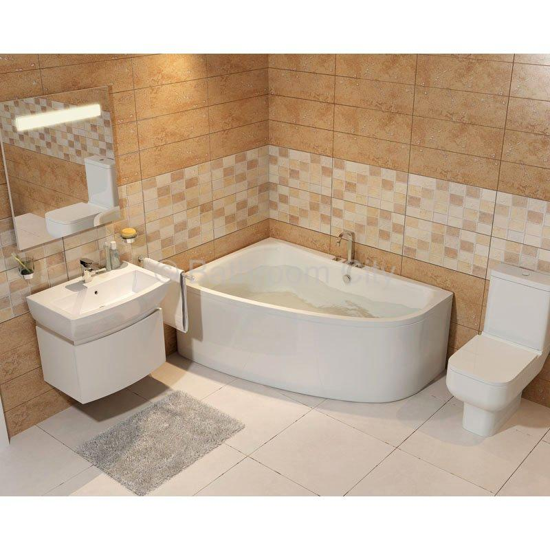 clia left hand offset corner bath bath panels bathroom city